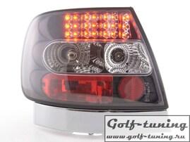 Audi A4 B5 95-00 Седан Фонари светодиодные, черные