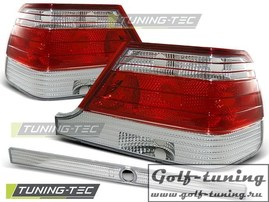 Mercedes W140 95-98 Фонари красно-белые
