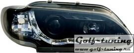 Renault Megane 96-00 Фары Devil eyes, Dayline черные