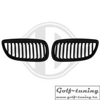 BMW E92 06-10 Решетки радиатора (ноздри) черные