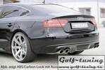 Audi A5 B8/B81 07-11 S-Line Sportback Накладка на задний бампер/диффузор