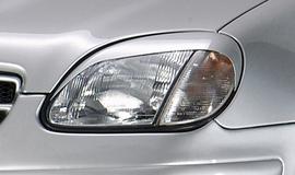 Mercedes R170 96-04 Реснички на фары