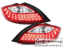 Mazda 2 07-10 Фонари светодиодные, красно-белые