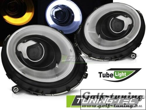 Mini Cooper R55/R56/R57 06-14 Фары tube light черные