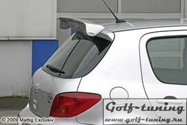 Peugeot 307 01-07 Спойлер на крышку багажника