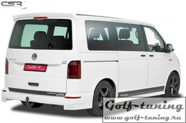 VW T6 Bus Накладки на задний бампер