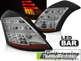 Suzuki Swift 10- Фонари lightbar design черные