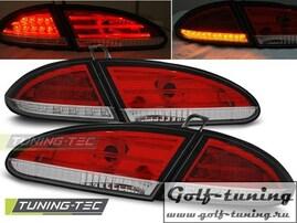 Seat Leon 05-09 Фонари светодиодные, красно-белые