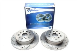 Lexus GS / Lexus IS I / Lexus IS Sport Cross / Lexus SC Комплект спортивных тормозных дисков
