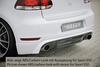 VW Golf 6 GTI Накладка на задний бампер