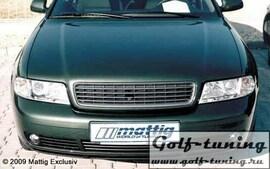 Audi A4 B5 95-01 Решетка радиатора без значка черная