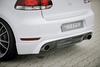 VW Golf 6 GTI/GTD Накладка на задний бампер carbon look