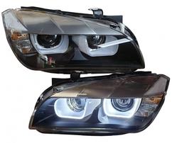 BMW X1 E84 11-14 Фары Lightbar Tagfahrlicht под ксенон черные