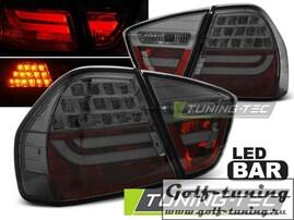 BMW E90 05-08 Фонари светодиодные, тонированные Lightbar с светодиодным поворотником