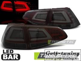 VW Golf 7 12-17 Фонари светодиодные, красно-тонированные lightbar design