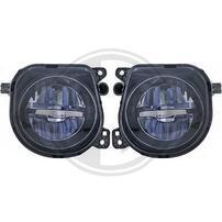BMW F10 13-17 Светодиодные противотуманные фары тонированные
