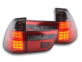 BMW X5 Typ E53 99-03 Фонари светодиодные красно- тонированные