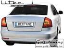 Skoda Octavia 1Z 04-11 Седан Фонари светодиодные, красно-белые