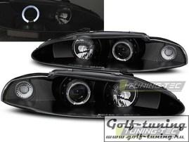 Mitsubishi Eclipse 95-96 Фары Angel eyes черные