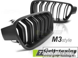 BMW F30/F31 11- Решетки радиатора (ноздри) M3 Look матовые