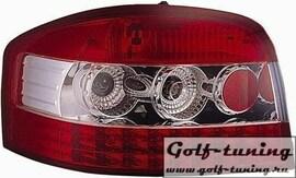 Audi A3 8P 3Дв 03-05 Фонари светодиодные, красно-белые