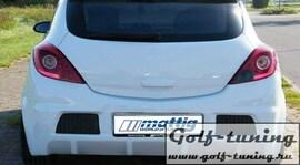 Opel Corsa D 06-10 Бампер задний