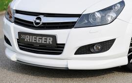 Opel Astra H 5D Спойлер переднего бампера