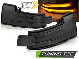 MERCEDES W166/W463/W251 Светодиодные тонированные динамические бегающие поворотники в зеркало