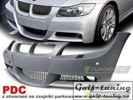 BMW E90 05-08 Бампер передний M-Technik Look +PDC