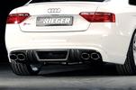 Audi A5/S5 B8/B81 07-11 S-Line Sportback Накладка на задний бампер/диффузор Carbon Look