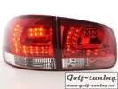 VW Touareg 02-10 Фонари светодиодные, красно-белые