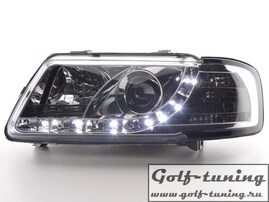 Audi A3 8L 96-00 Фары Devil eyes, Dayline хром