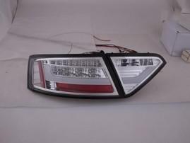 Audi A5 07-11 Фонари светодиодные, lightbar design, хром