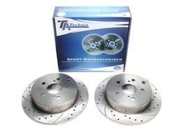 Toyota Corolla Verso Комплект спортивных тормозных дисков