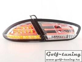 Seat Leon 1P1 09- Фонари светодиодные, хром