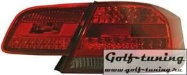 BMW E92 Coupe 06- Фонари светодиодные, красно-тонированные