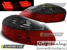 Porsche Boxster 96-04 Фонари светодиодные, красно-тонированные