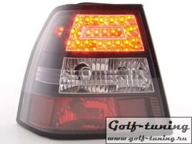 VW Bora Фонари светодиодные, черные