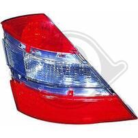 Mercedes W221 05-09 Фонари красно-белые