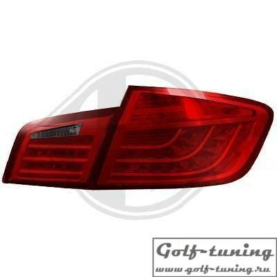 BMW F10 10-13 Фонари светодиодные, красно-тонированные Lightbar design
