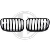 BMW X5/X6 07-13 Решетки радиатора (ноздри) глянцевые