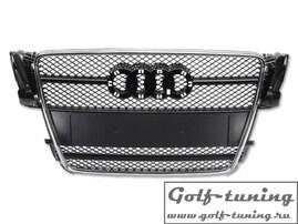 Audi A5 B8 07- Решетка радиатора с хром полосками