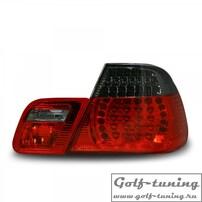 BMW E46 99-03 Купе Фонари светодиодные, красно-тонированные
