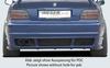 BMW E36 Накладка на задний бампер в стиле E46 M3