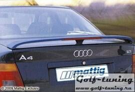 Audi A4 B5 95-01 Спойлер на крышку багажника с стоп сигналом