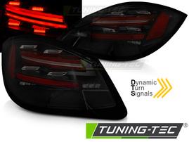 PORSCHE BOXSTER / CAYMAN 987 09-12 Фонари LED BAR с бегающим поворотником тонированные