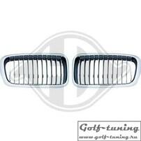 BMW E38 95-02 Решетки радиатора (ноздри) хром