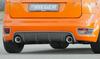 Ford Focus 2 ST 04-08 Диффузор для заднего бампера carbon look