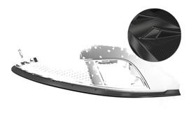 Seat Ibiza III (Typ 6L) 06-08 Накладка на передний бампер Carbon look