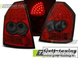 Chrysler 300C 05-10 Фонари светодиодные, красно-тонированные